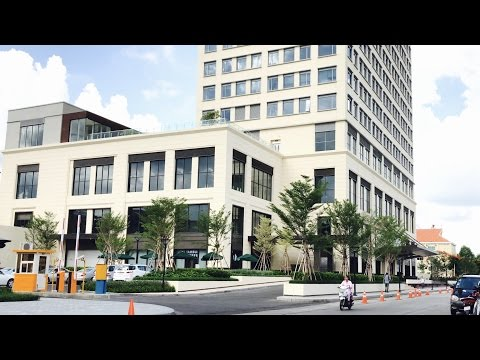 [4K]NEW Exchange Square (HongKong Land) Shopping Mall & Office Space in Phnom Penh Cambodia
