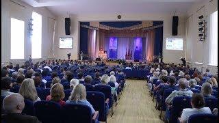 Торжественное собрание трудового коллектива в ГрГУ им. Я.Купалы