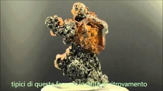 Grossular garnet from Asbestos,Quebec,Canada video by PANASONIC HC-X920