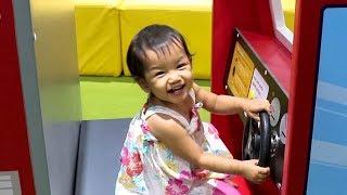 Baby Nora Playing at Kidzoona Playground
