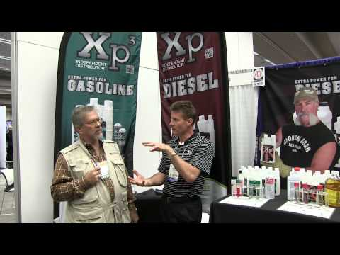 MrTruck interviews Marc Springer about XP3 fuel additive at SEMA 2013