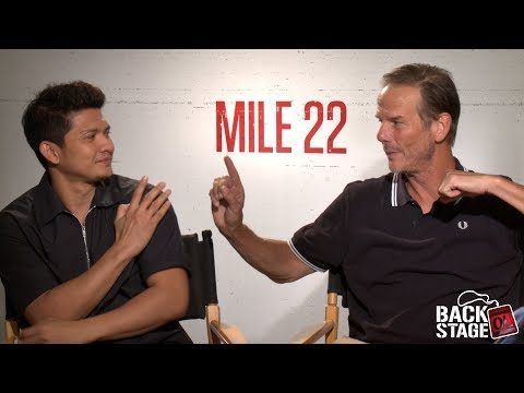 MILE 22 Interview: Peter Berg vs Iko Uwais | Who'd Win In A Fight?