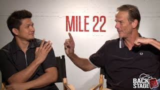 Video MILE 22 Interview: Peter Berg vs Iko Uwais | Who'd Win In A Fight? download MP3, 3GP, MP4, WEBM, AVI, FLV Agustus 2018