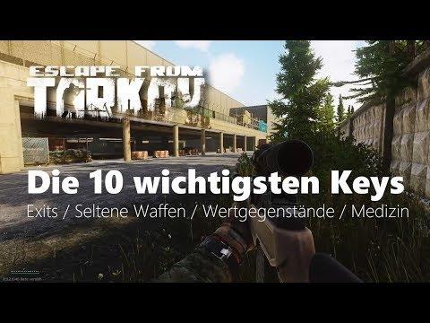 Die 10 wichtigsten Keys - Escape from Tarkov - Tutorial (Deutsch)