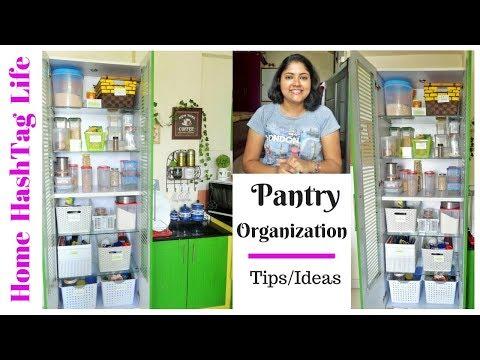 Indian Kitchen Organisation - Pantry Organization   Home HashTag Life