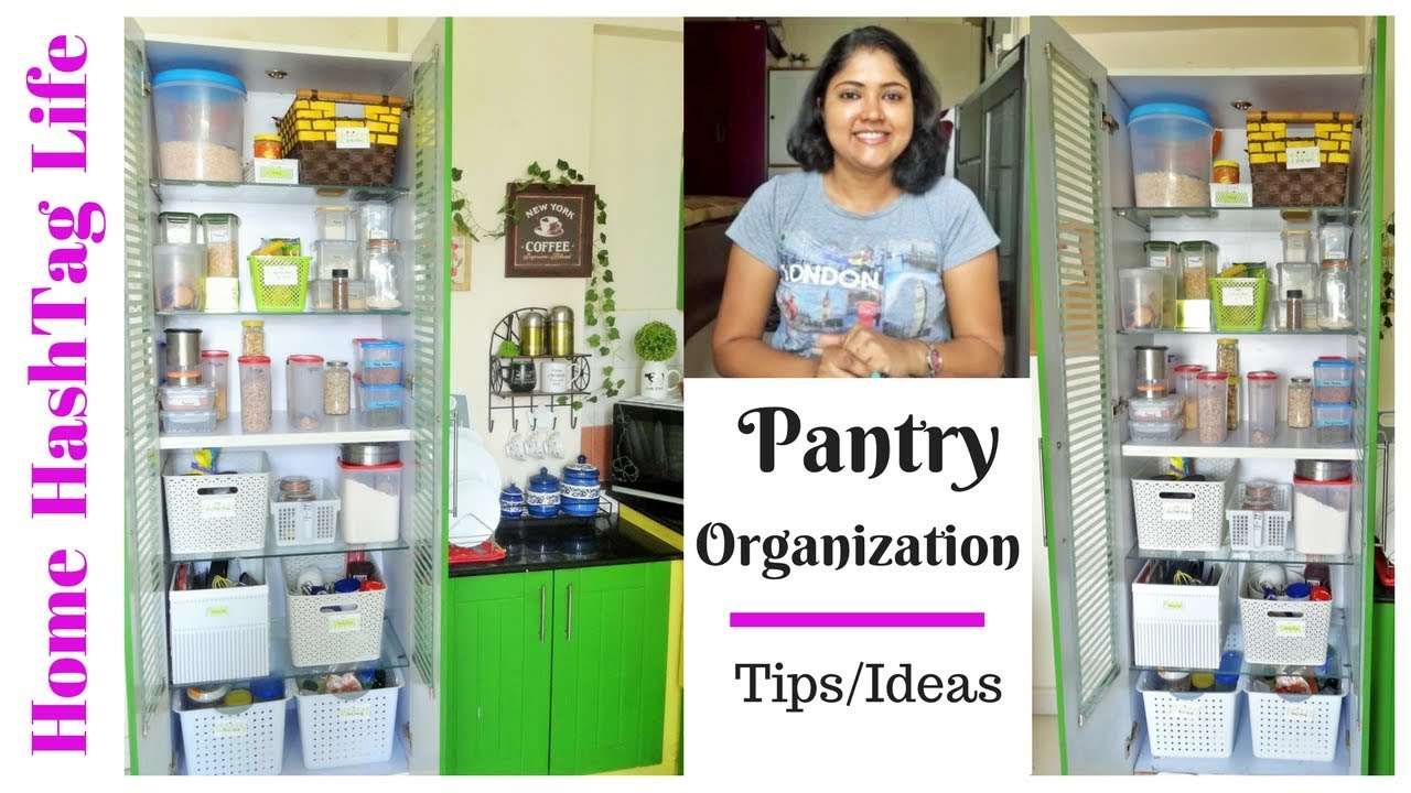 Indian Kitchen Organisation Ideas - Pantry Organization ...