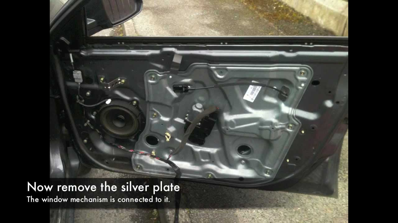 Nissan Primera Door Panel Youtube