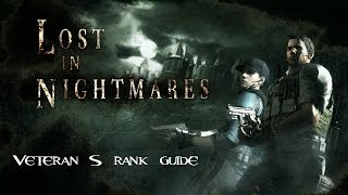 Resident Evil 5 Remastered Lost in Nightmares - Veteran - S Rank - No Damage - Complete Walkthrough