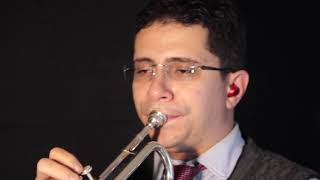 Movement I from Trumpet Concerto in F minor, op  18 by Oskar Böhme.  Nairam Simoes - Trumpet