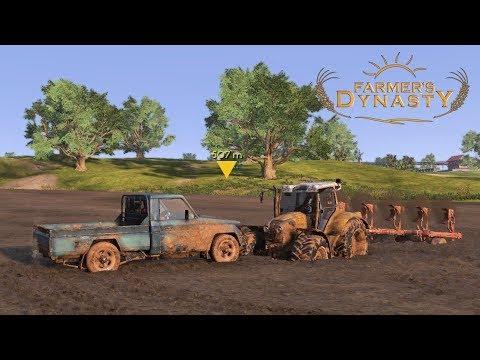 FARMER'S DYNASTY | #19 Comprando Terrenos y Contratando Trabajadores