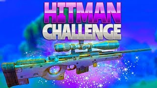 HITMAN CHALLENGE (Fortnite Battle Royale) | rhinoCRUNCH