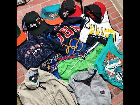 TRIP TO THE THRIFT #8 HOUSE EDITION: Tommy hilfiger, Starter, Gucci, Polo Sport