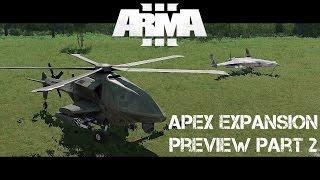 armA 3 Apex Expansion Preview part 2