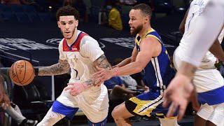 Lonzo Ball 33 Pts vs Warriors Clutch Go Ahead Basket! 2020-21 NBA Season