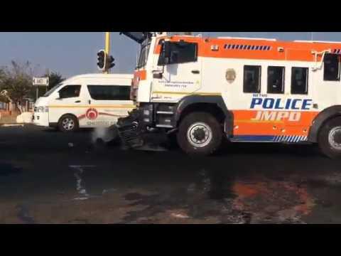 SA latest crowed control assets