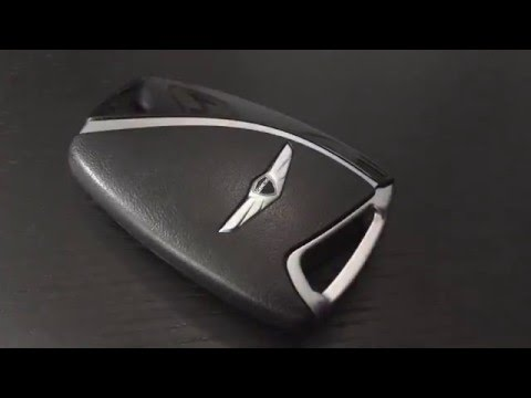 2015 Hyundai Genesis Sedan Key Fob Battery Replacement Youtube