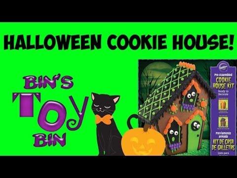 Halloween Gingerbread House Kit Walmart