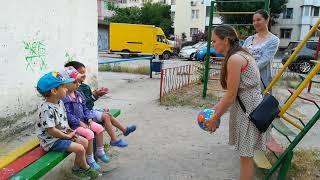 Развивающие игры для детей на улице от 3-5 лет...