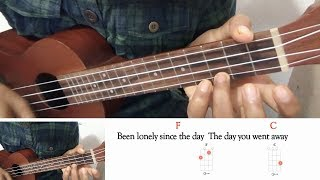 The Day You Went Away M2M ukulele cover lyric and chords.mp3