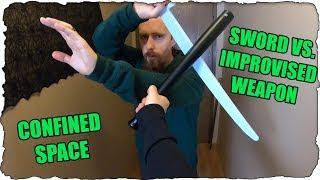 Sword Against Bat / Maglite / Crowbar? (Home Intruder)