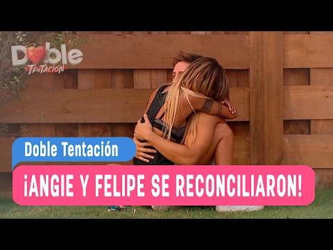 Doble Tentación - ¡Angie y Felipe se reconciliaron! / Capítulo 21