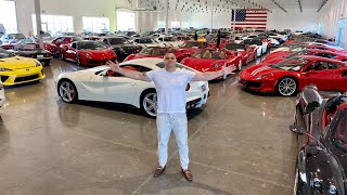 A look Inside a Supercar Candy Store