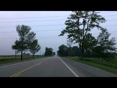 Driving to Lake Huron: Fullarton, Ontario to Grand Bend
