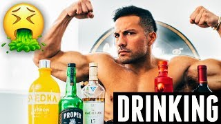 ALCOHOL & FITNESS | DRINKING TIPS TO STAY ON TRACK & AVOID MUSCLE LOSS