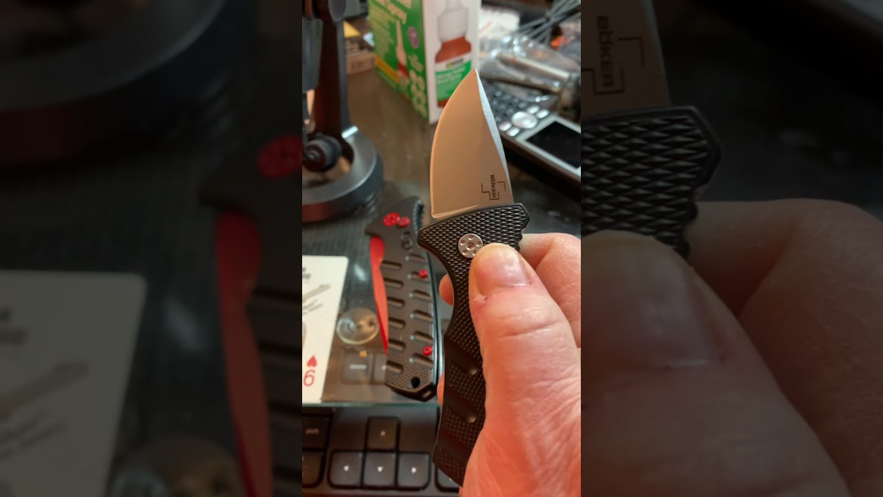 Boker Stubby Strike - First Flip #shorts