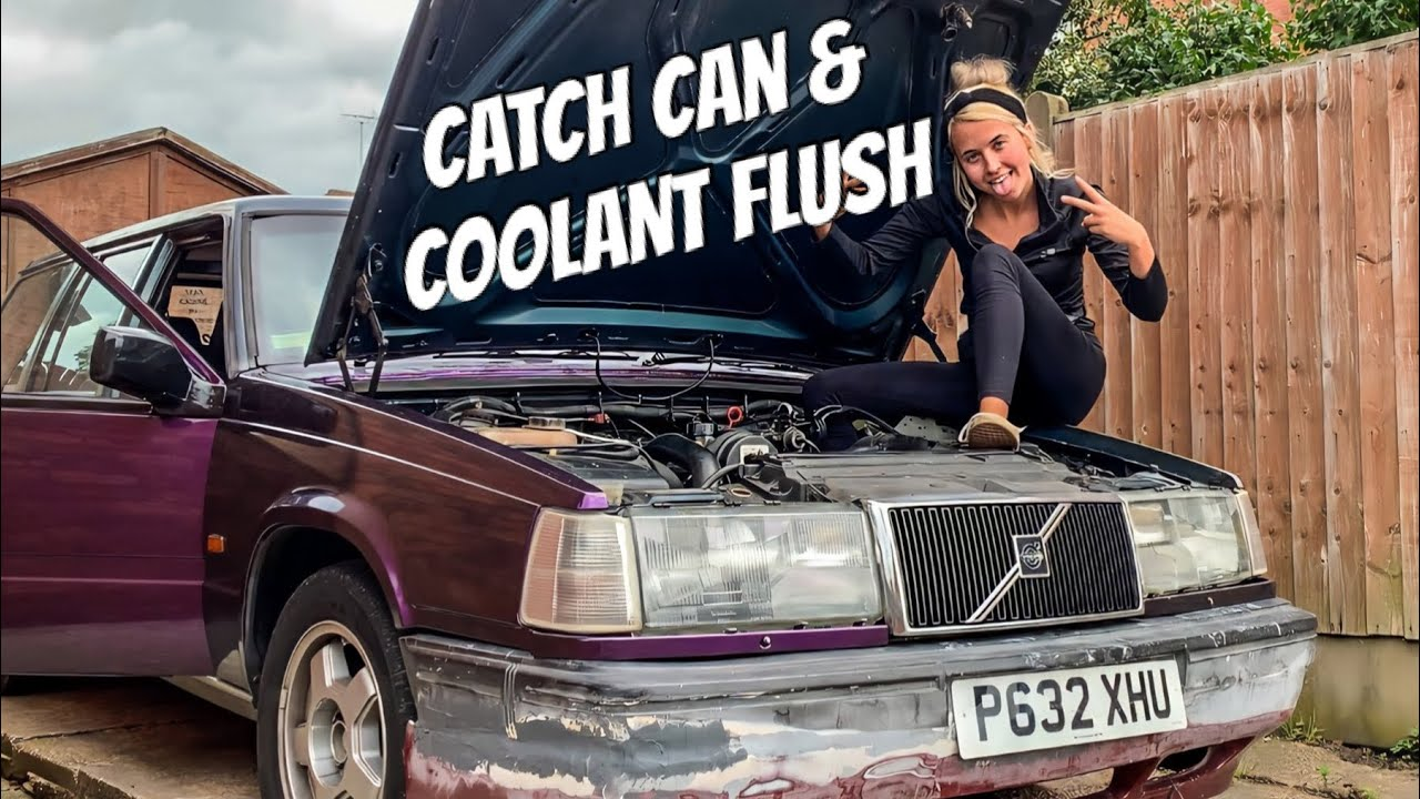 VOLVO 940 CATCH CAN INSTALL