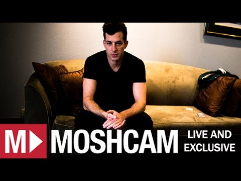 Mark Ronson on Uptown Funk, Michelle Pfeiffer & killer bees | Moshcam