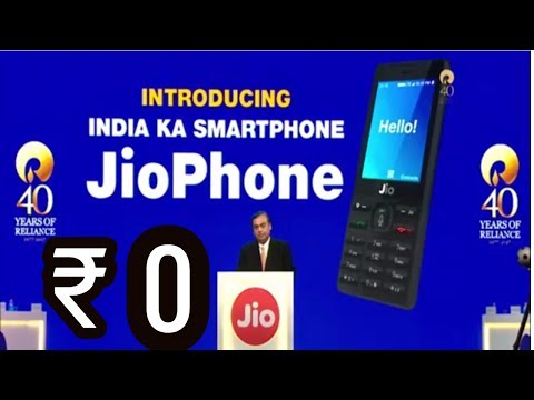 Jio 4G VoLTE Phone Launched in RS ZERO | Phone Details & Offers