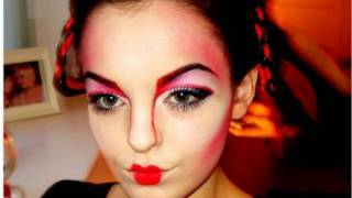 Makeup Tutorial: Modern Geisha/Kabuki