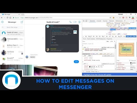 How To Edit Messages On Messenger