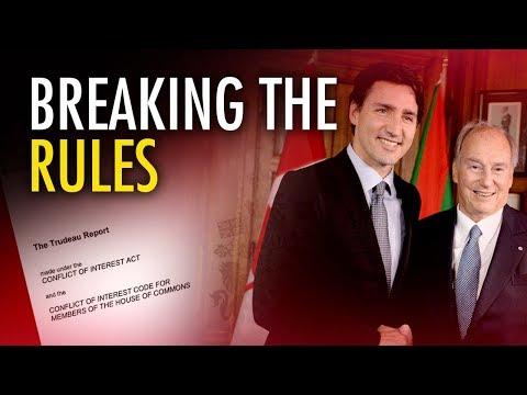 Ezra Levant: Justin Trudeau breaks anti-bribery laws