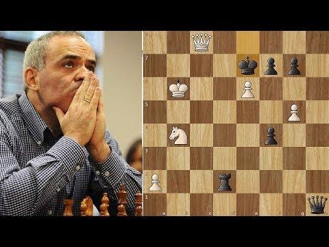 Kasparov Ruins a Masterpiece against Navara