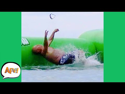 The FAIL Sent His Glasses FLYING! 🤣 | Best Water Fails | AFV 2021
