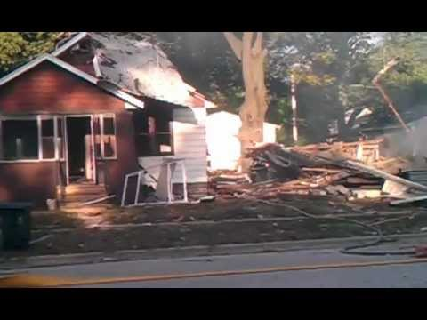 House expodes early morning in Muskegon - Part 2