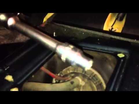 Volvo 940 Fuel Pump reanimation - YouTube