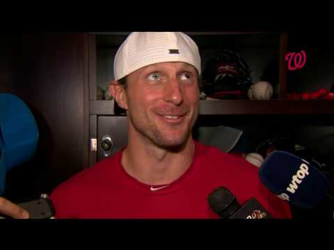 Max Scherzer on big win against the Brewers
