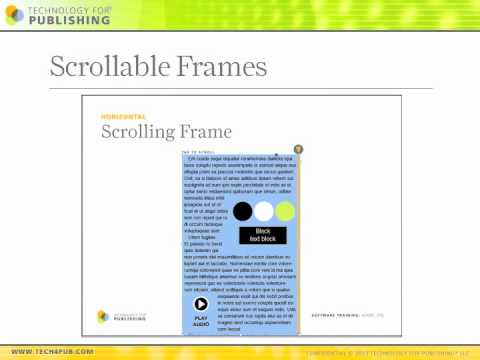 Creating Interactive Folios With DPS Online Training | Learn Adobe DPS Fast