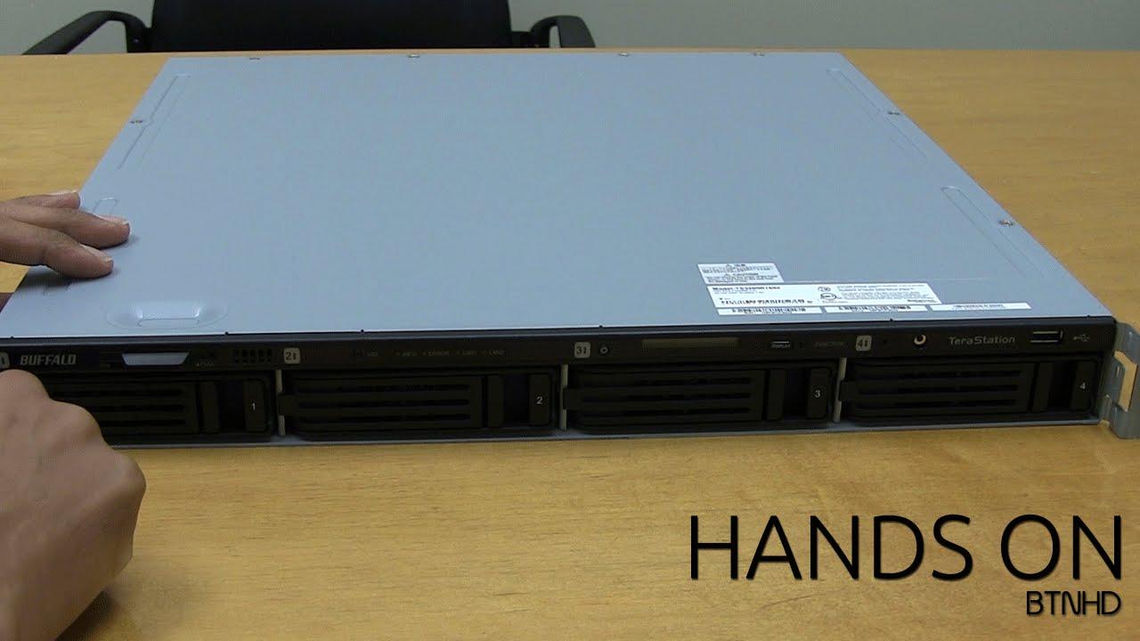 Buffalo 16TB TeraStation 3400r 1U 4-Bay NAS Server Hands On!