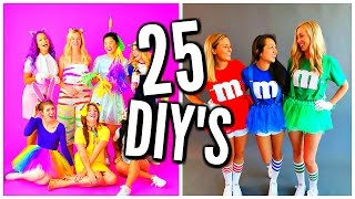 25 DIY Halloween Costume Ideas! Costumes For Groups & Couples!