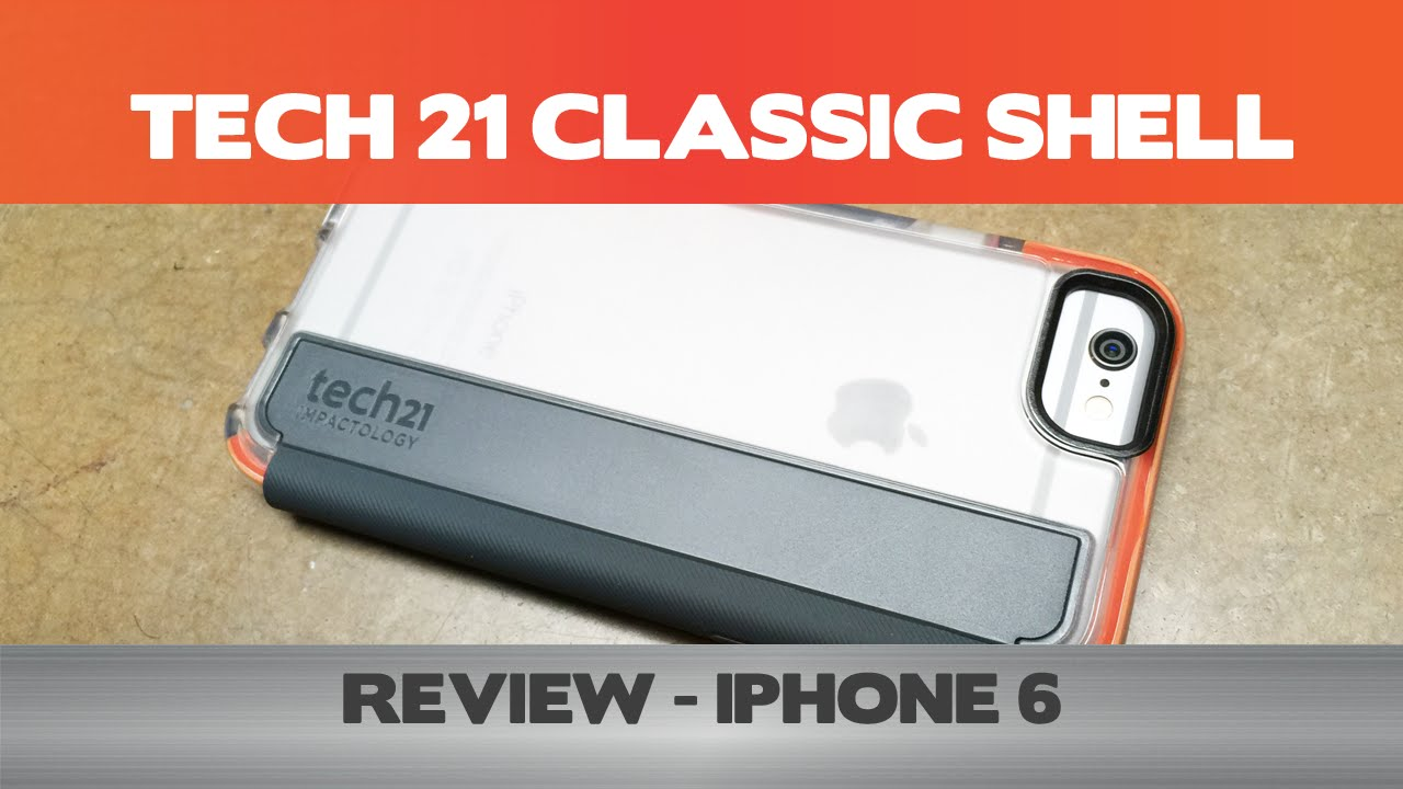 best loved 7fc16 eac3b Tech 21 Classic Shell Review - Concrete Tested - iPhone 6 cases