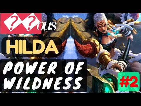Power of Wildness [Rank 1 Hilda] | Hilda Gameplay and Build By 𝙹ous #2 Mobile Legends