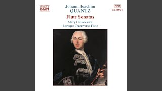 Play Sonata For Flute & Continuo In G Minor, QV 1:116