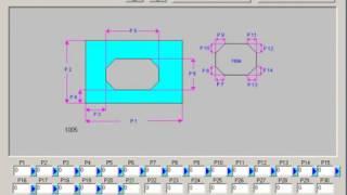 R-Tech CNC Plasma Cutter Basic Shapes Library