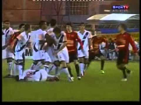 Pancadaria no Jogo Vasco X Sport – Taça BH de Futebol Junior