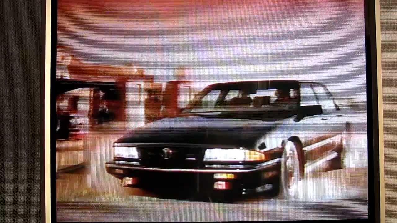 1989 Pontiac Bonneville SSE commercial - YouTube