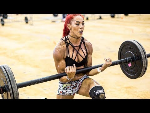 Explosive Crossfit Hannah Eden / Very strong and beautiful girl